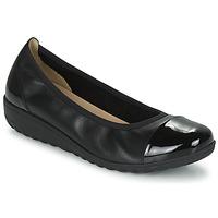Schuhe Damen Ballerinas Caprice 22103-026 Schwarz