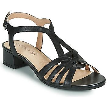 Schuhe Damen Sandalen / Sandaletten Caprice 28201-022 Schwarz