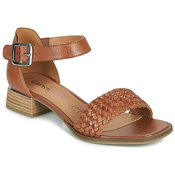 Schuhe Damen Sandalen / Sandaletten Caprice 28208-303 Cognac