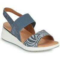Schuhe Damen Sandalen / Sandaletten Caprice 28306-849 Grau