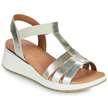 Schuhe Damen Sandalen / Sandaletten Caprice 28308-970 Silbern
