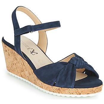 Schuhe Damen Sandalen / Sandaletten Caprice 28713-857 Schwarz