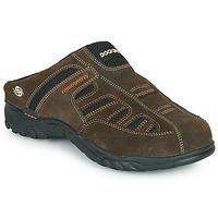 Schuhe Herren Pantoletten / Clogs Dockers by Gerli 36LI005-320 Braun