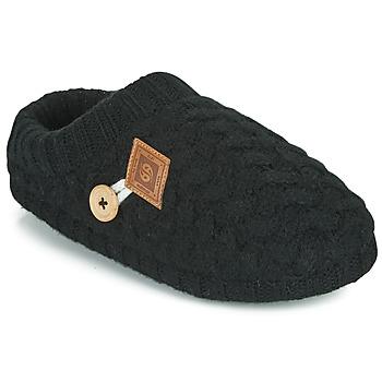 Schuhe Damen Hausschuhe Dockers by Gerli 39HO302-100 Schwarz