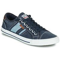 Schuhe Herren Sneaker Low Dockers by Gerli 42JZ004-670 Blau