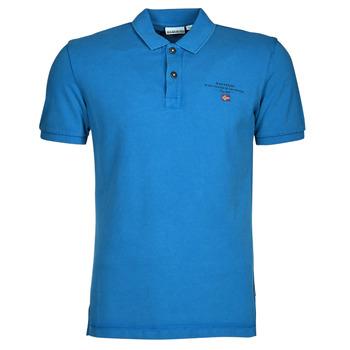 Kleidung Herren Polohemden Napapijri ELBAS 4 Blau