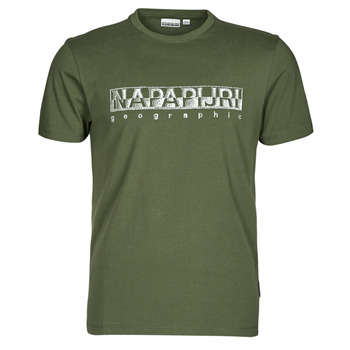 Kleidung Herren T-Shirts Napapijri SALLAR SS Grün