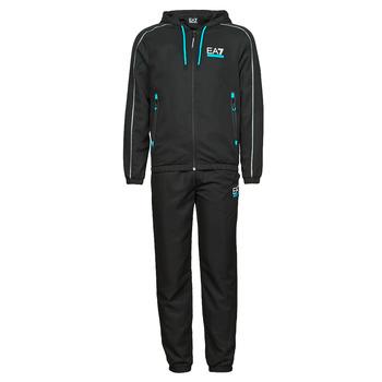 Kleidung Herren Jogginganzüge Emporio Armani EA7 3KPV02-PNP5Z-1200 Schwarz
