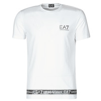 Kleidung Herren T-Shirts Emporio Armani EA7 3KPT05-PJ03Z-1100 Weiss