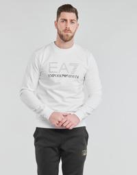Kleidung Herren Sweatshirts Emporio Armani EA7 3KPMD7-PJ2SZ-1100 Weiss