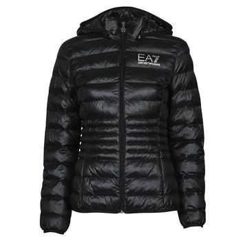 Kleidung Damen Daunenjacken Emporio Armani EA7 8NTB23-TN12Z-1200 Schwarz