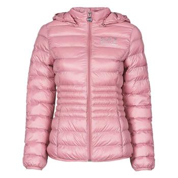 Kleidung Damen Daunenjacken Emporio Armani EA7 8NTB23-TN12Z-1436 Rose