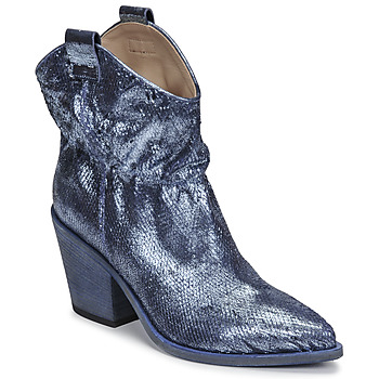 Schuhe Damen Low Boots Fru.it 6901-376-BLUE Blau