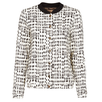 Kleidung Damen Jacken / Blazers One Step MADANY Naturfarben / Schwarz