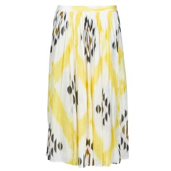 Kleidung Damen Röcke One Step JOSEPHINE Gelb / Multicolor