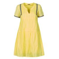 Kleidung Damen Kurze Kleider One Step ROYA Gelb