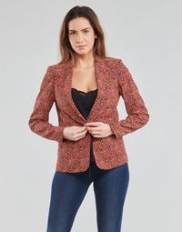 Kleidung Damen Jacken / Blazers One Step VINNY Rot / Multicolor