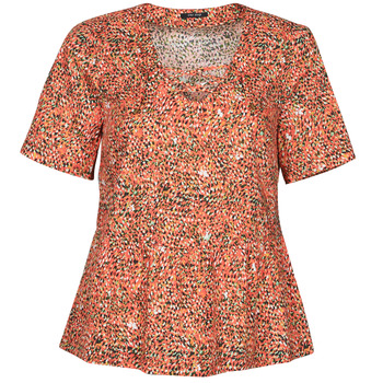 Kleidung Damen Tops / Blusen One Step CARA Rot / Multicolor
