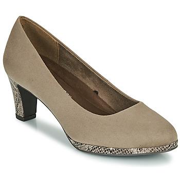 Schuhe Damen Pumps Marco Tozzi 2-22409-35-347 Maulwurf