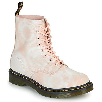 Schuhe Damen Boots Dr Martens 1460 PASCAL Beige