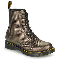 Schuhe Damen Boots Dr Martens 1460 PASCAL Maulwurf / Gold