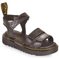 Schuhe Mädchen Sandalen / Sandaletten Dr Martens KLAIRE J Schwarz