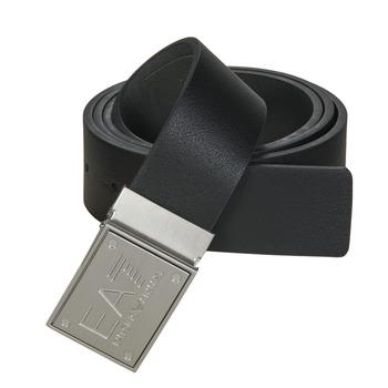Accessoires Gürtel Emporio Armani EA7 TRAIN CORE ID U BELT Schwarz / Grau