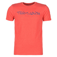 Kleidung Herren T-Shirts Teddy Smith TICLASS Rot
