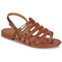 Schuhe Damen Sandalen / Sandaletten Les Tropéziennes par M Belarbi HERISSON Braun