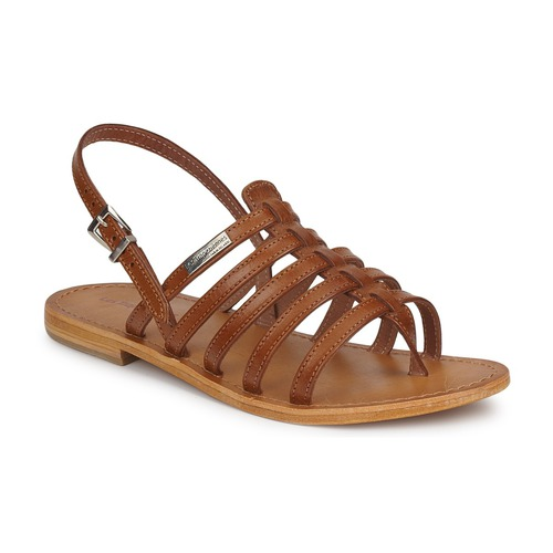 Les Tropéziennes par M Belarbi HERISSON Braun  Schuhe Sandalen / Sandaletten Damen 44