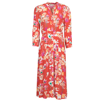 Kleidung Damen Maxikleider Rip Curl SUGAR BLOOM DRESS Rot