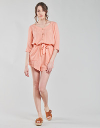 Kleidung Damen Overalls / Latzhosen Rip Curl TALLOWS SPOT ROMPER Pfirsisch