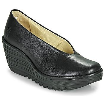 Schuhe Damen Pumps Fly London YAZ Schwarz
