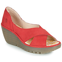 Schuhe Damen Sandalen / Sandaletten Fly London YOMA Rot