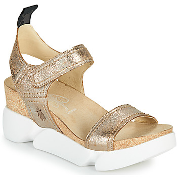 Schuhe Damen Sandalen / Sandaletten Fly London SENA Gold