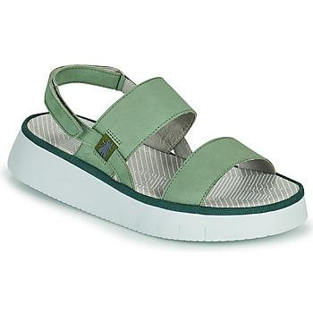 Schuhe Damen Sandalen / Sandaletten Fly London CURA Grün