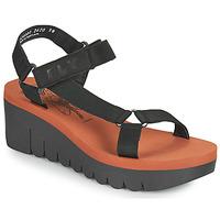 Schuhe Damen Sandalen / Sandaletten Fly London YEFA Schwarz