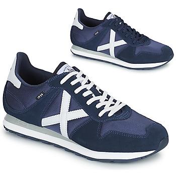 Schuhe Herren Sneaker Low Munich MASSANA 433 Blau
