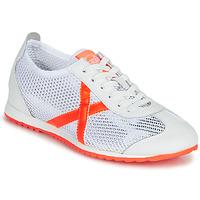 Schuhe Damen Sneaker Low Munich OSAKA 456 Weiss / Orange