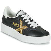 Schuhe Damen Sneaker Low Munich BARRU SKY 62 Schwarz / Gold