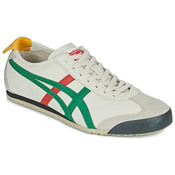 Schuhe Sneaker Low Onitsuka Tiger MEXICO 66 Weiss / Grün / Rot