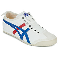 Schuhe Sneaker Low Onitsuka Tiger MEXICO 66 SLIP ON Weiss / Blau / Rot
