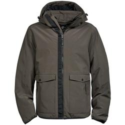 Kleidung Herren Parkas Tee Jays TJ9604 Dunkles Olive