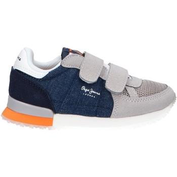 Schuhe Mädchen Multisportschuhe Pepe jeans PBS30447 SYDNEY Azul