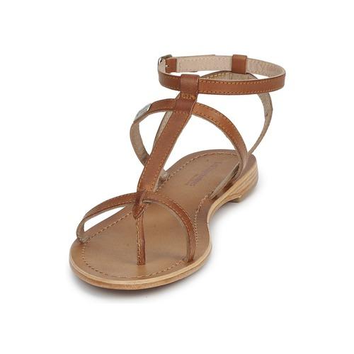 Les Tropéziennes par M Belarbi HILAN Braun Schuhe Sandalen / Sandaletten Damen 47,90