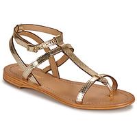 Schuhe Damen Sandalen / Sandaletten Les Tropéziennes par M Belarbi HILAN Goldfarben