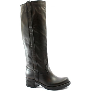 Schuhe Damen Klassische Stiefel Divine Follie DIV-I20-115-TM Marrone