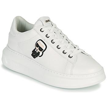 Schuhe Damen Sneaker Low Karl Lagerfeld KAPRI KARL IKONIC LO LACE Weiss