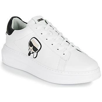 Schuhe Herren Sneaker Low Karl Lagerfeld KAPRI MENS Karl Ikonic 3D Lace Weiss
