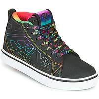 Schuhe Mädchen Rollschuhe Heelys RACER 20 MID Schwarz / Multicolor